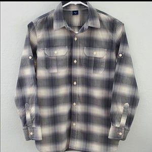 Gap Long Sleeved flannel button down boy's shirt